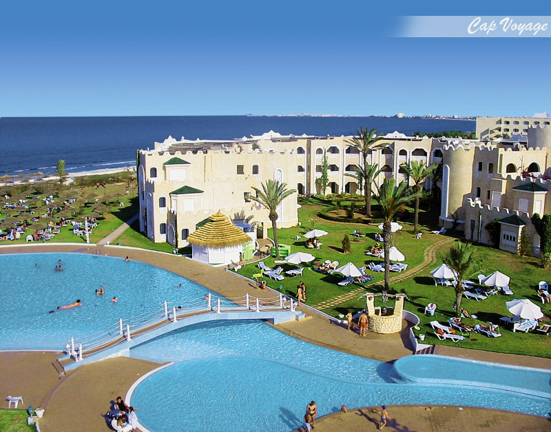 Hotel LTI Mahdia Beach, Mahdia, Tunisie vue piscine