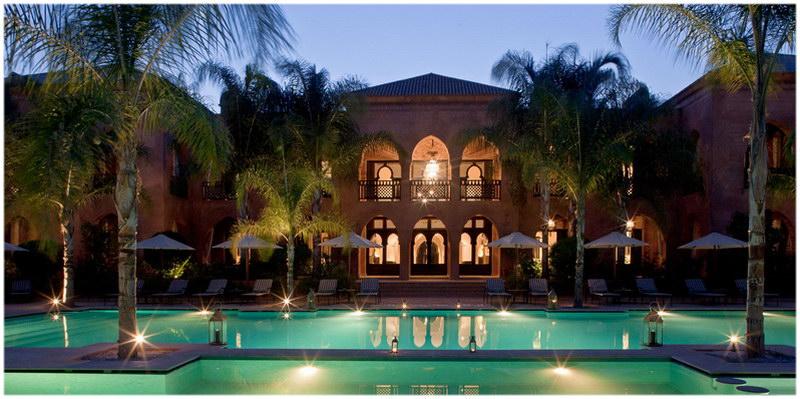 Hotel la maison arabe marrakech maroc cap voyage for Hotel maison