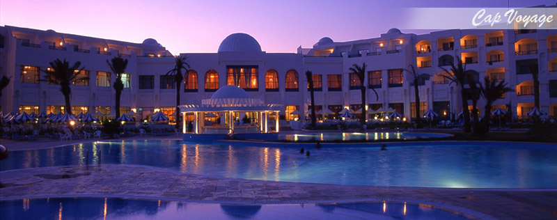 Hotel Mahdia palace, Mahdia, Tunisie, vue piscine