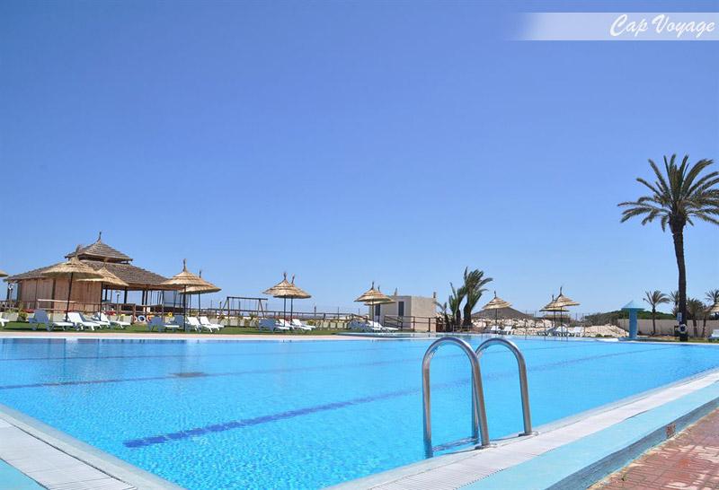 Hotel Neptunia Beach Monastir, Tunisie, vue piscine