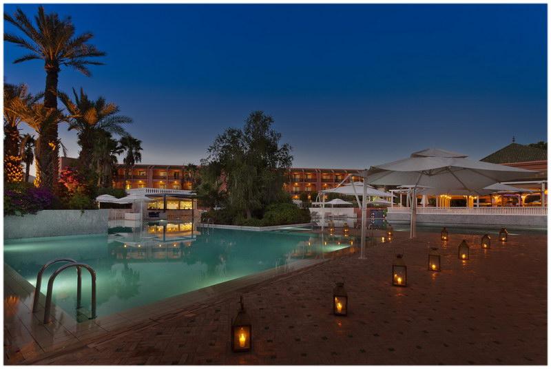 Hotel Palmeraie Palace Marrakech guide voyage au Maroc