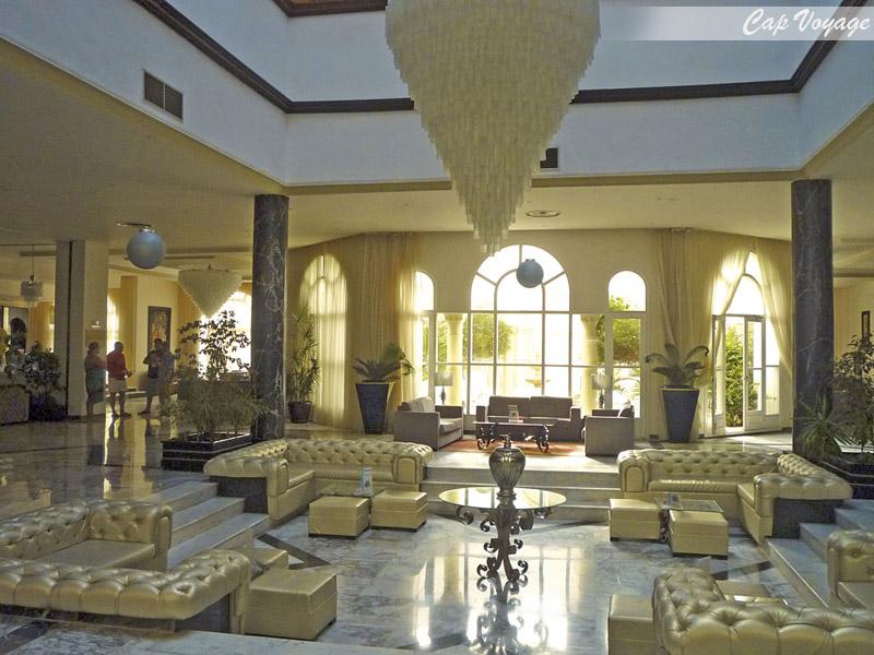 Hotel Ramada Liberty Resort Monastir Tunisie, vue reception