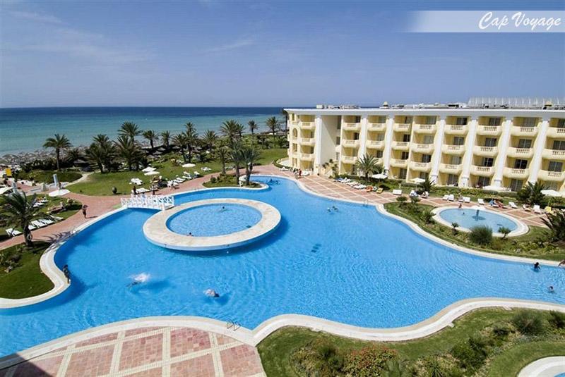 Hotel Royal Thalassa Monastir Tunisie, vue piscine