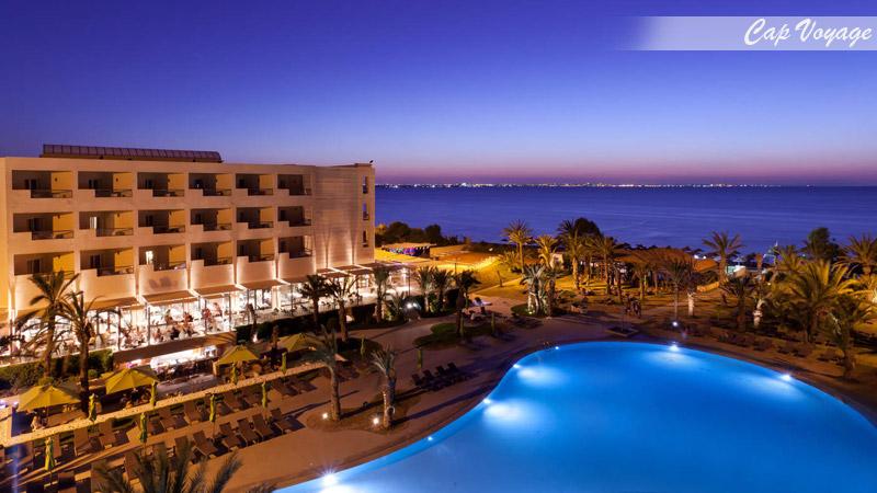 Hotel Sentido Rosa Beach, Monastiir, Tunisie, vue piscine