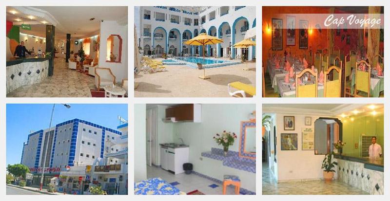 Hotel Sindbad Center Sousse Tunisie, vue générale
