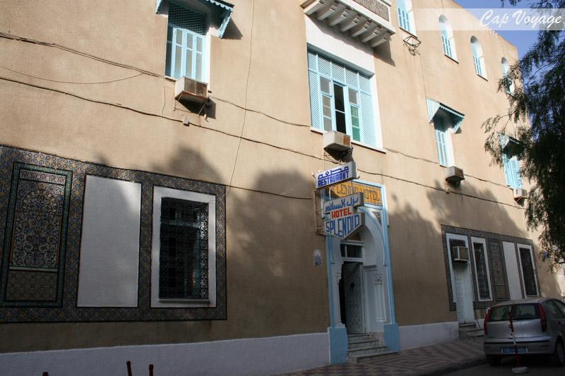 Hotel Splendid Kairouan Tunisie vue de face