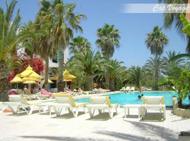 Hotel Sun & Fun Saadia Garden Sousse Tunisie, vue piscine