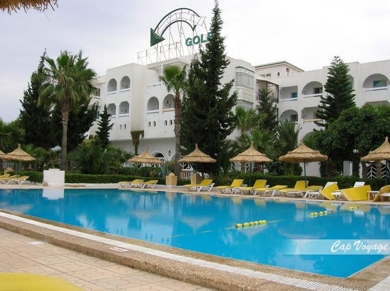 Hotel Wonder Golf Sousse Tunsie, vue piscine