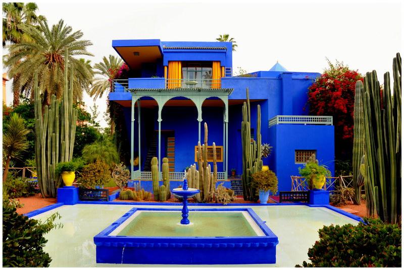 Jardin Majorelle marrakech guide voyage au maroc