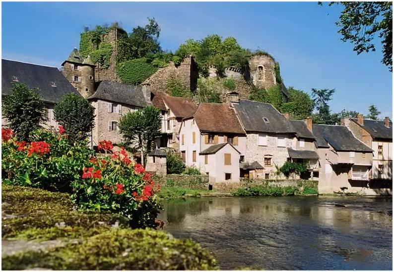 La Corrèze,Limousin,France