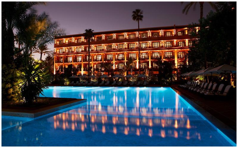 Hotel La Mamounia Marrakech Maroc guide voyage au maroc