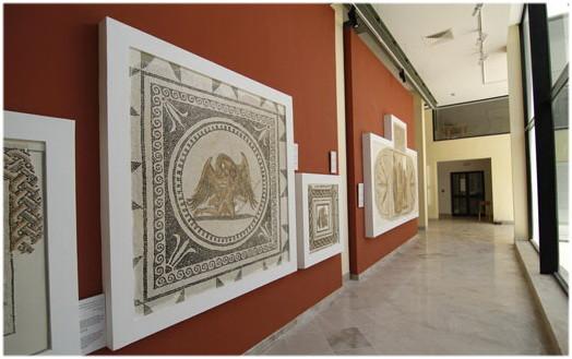 Le musée archéologique de Sousse, Tunisie