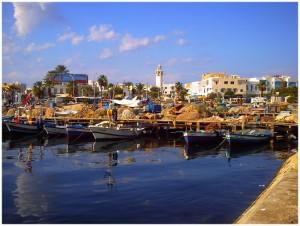 Le port de pêche de Mahdia