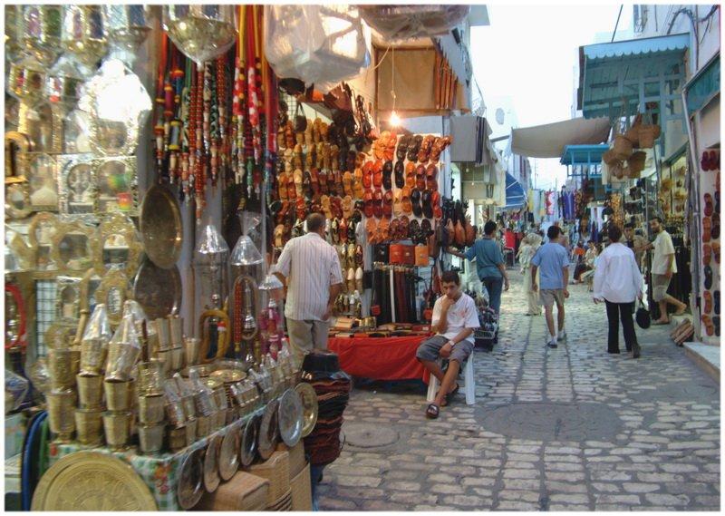 Les Souks de la Médina de Sousse