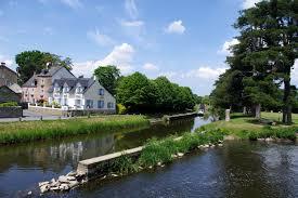 Malestroit,Bretagne,France.ville