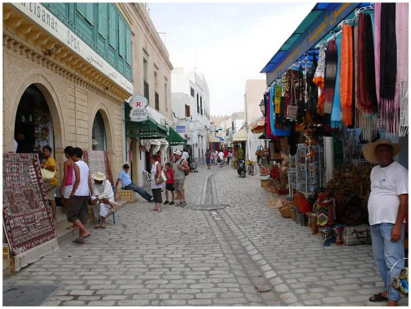 Souk Medina Mahdia Tunisie