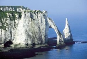 Tourisme en Normandie,France-falaises-etretat