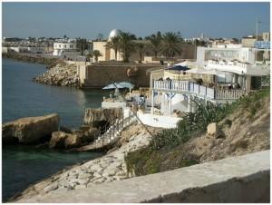 Café restaurant Mahdia voyage en Tunisie