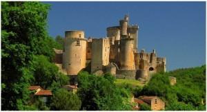 Chateau de bonaguil, Lot-et-Garonne,Aquitaine,France