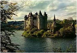 chateau de val,Auvergne,France