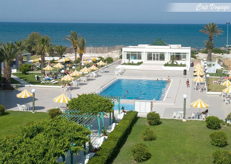 Hotel Le Phenix de Mahdia, Tunisie, vue piscine et mer