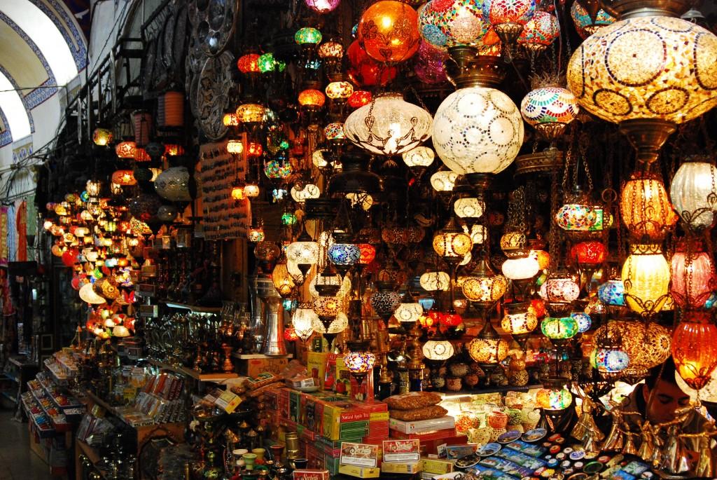 Grand bazar,Istanbul-Turquie