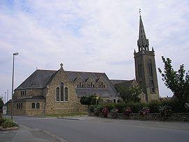 la trinite Porhoet-France-Bretagne-Eglise Saint-Melaine