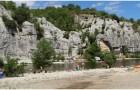 Berrias-et-Casteljau,Rhone-Alpes,France est une region touristique a climat mediterraneen.sites archeologique,monuments,nature pittoresque,hotels,campings,gites,...