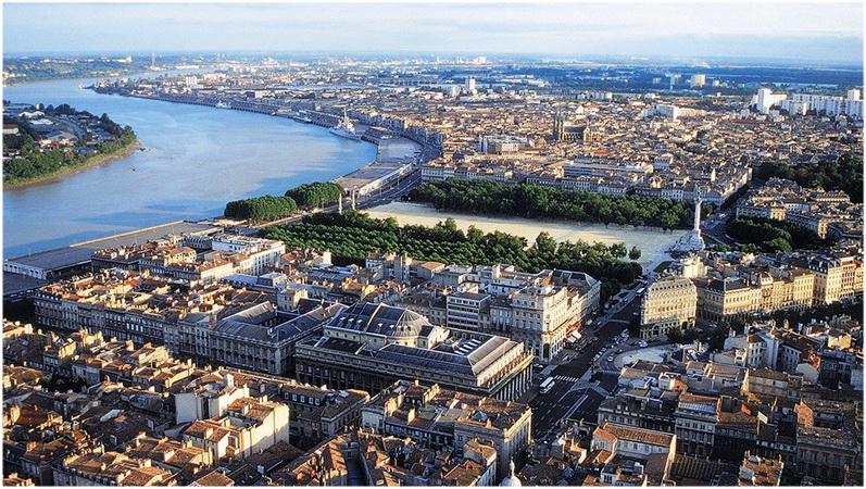 Bordeaux gironde aquitaine france cap voyage for Hotel au sud de la france