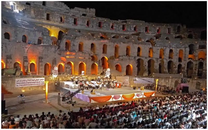 concert symphonique Colisé el jem