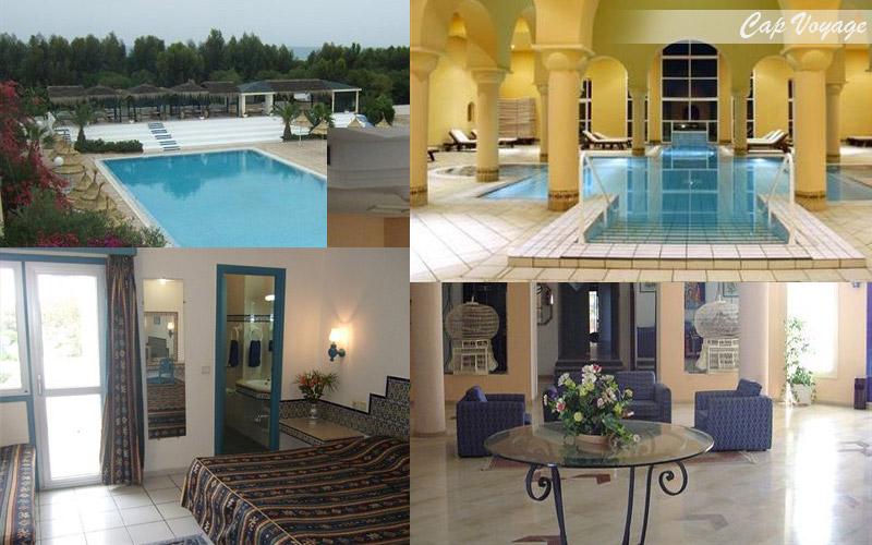 Hotel Acqua Viva Tunis Tunisie, vue piscine, chambre,