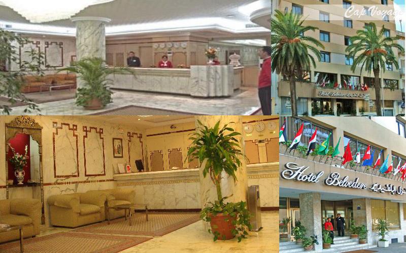 Hotel Belvedere Fourati, Tunis, Tunisie, vue générale
