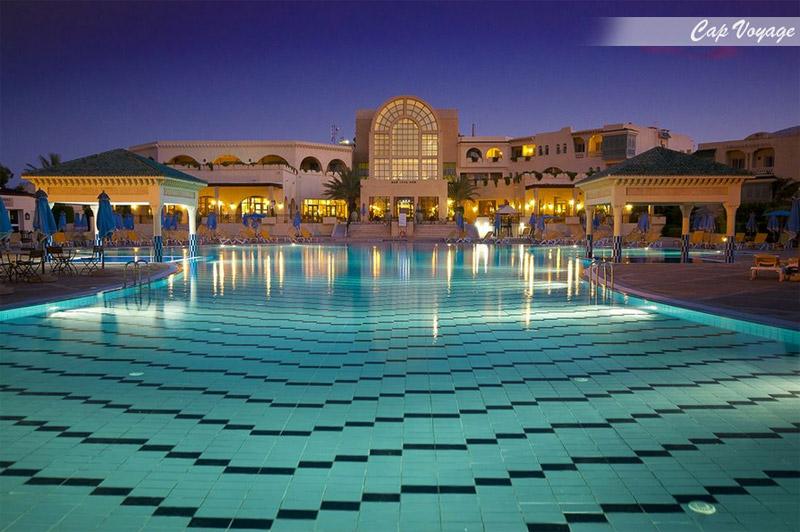 Hotel Carthage thalasso, Tunis, Tunisie vue piscine