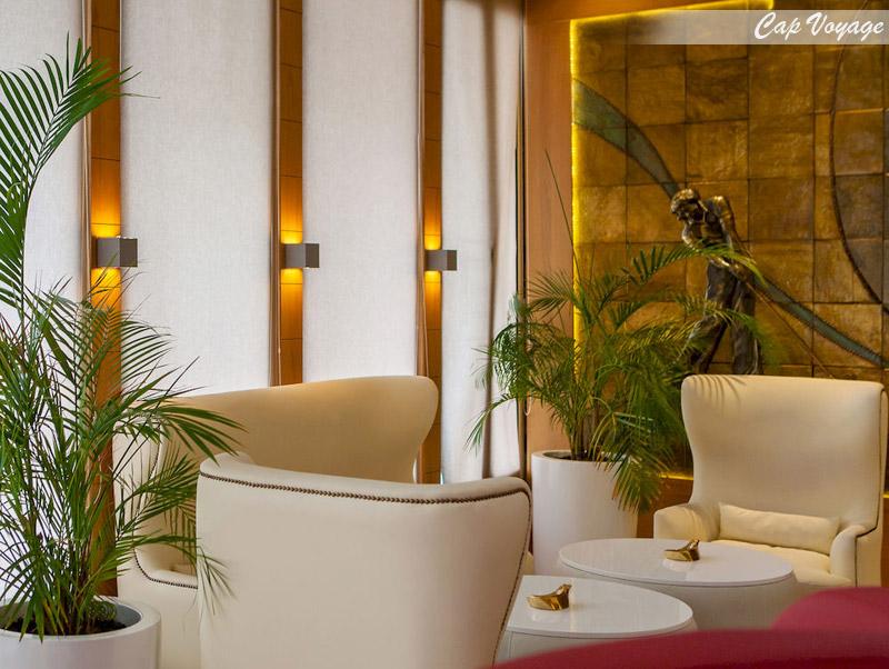 Hotel Golf Royal,Tunis, Tunisie, vue reception