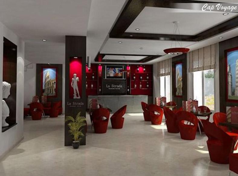Hotel Le Pacha Tunis, Tunisie, restaurant