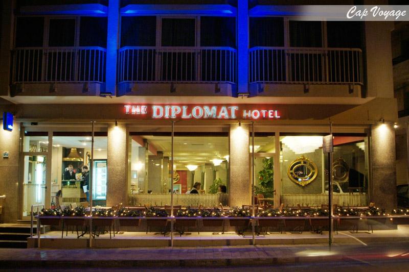 Hotel Le diplomate Tunis Tunisie, vue de face