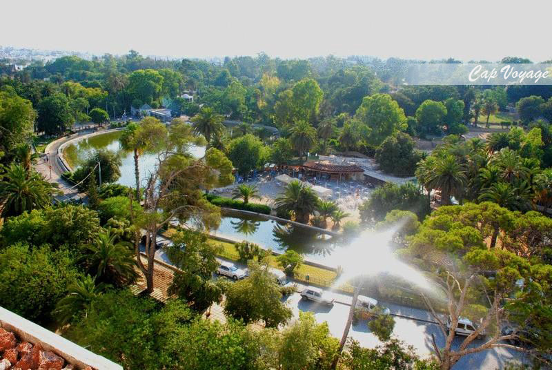 Hotel les ambassadeurs Tunis Tunisie, vue piscine