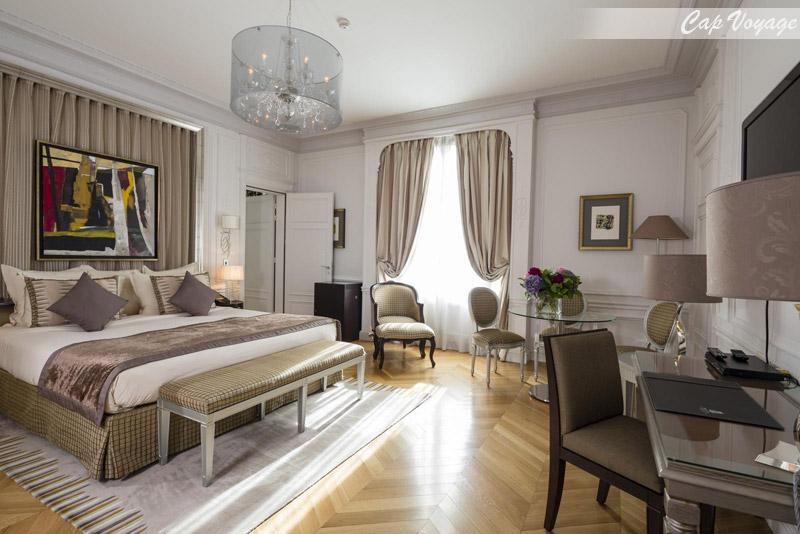 Hotel Majestic Tunis, Tunisie, vue chambre