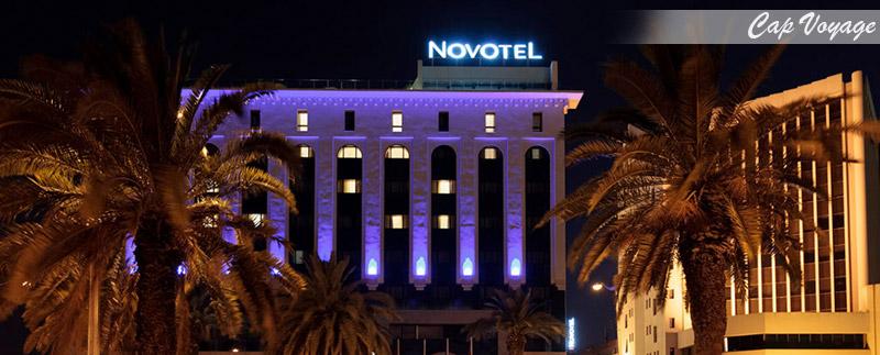 Hotel Novotel Mohamed V, Tunis, Tunisie, vue de face