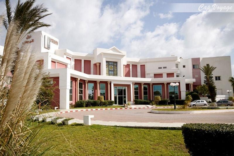 Hotel Phebus, Tunis, Tunisie, vue de reception