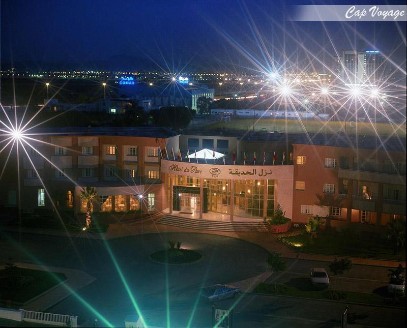 Hotel du parc Tunis Tunisie, vue d'entree