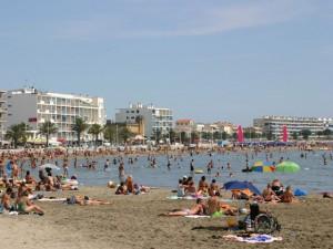 Montpellier,Languedoc-Roussillon,France-plage