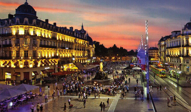 Montpellier,Languedoc-Roussillon,France