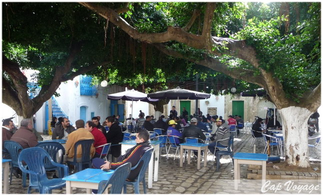 Place du Caire à Mahdia, voyage en Tunisie
