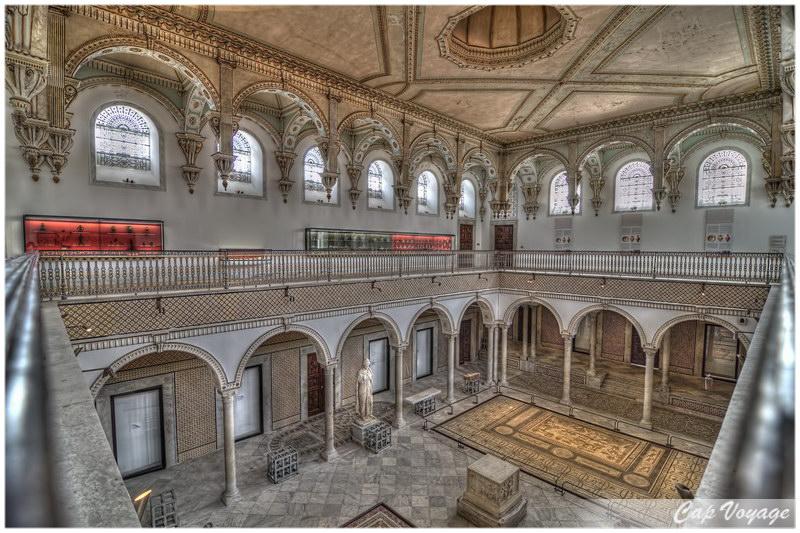 Musée National du Bardo à Tunis, voyage en Tunisie