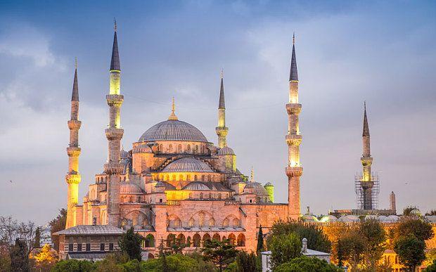 La Mosqu 233 E Bleue Istanbul Turquie Cap Voyage