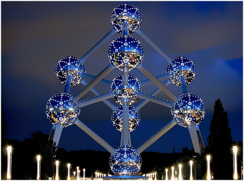L'Atomium, Bruxelles, Belgique