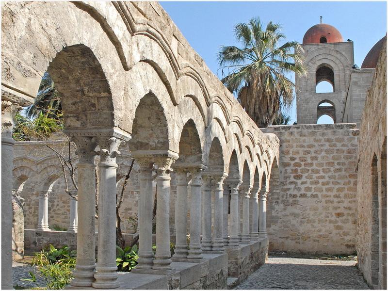 Eglise Saint-Jean des Ermites, Palerme, Italie