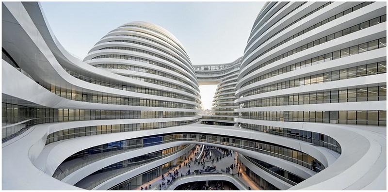 Galaxie Soho Building, Pékin