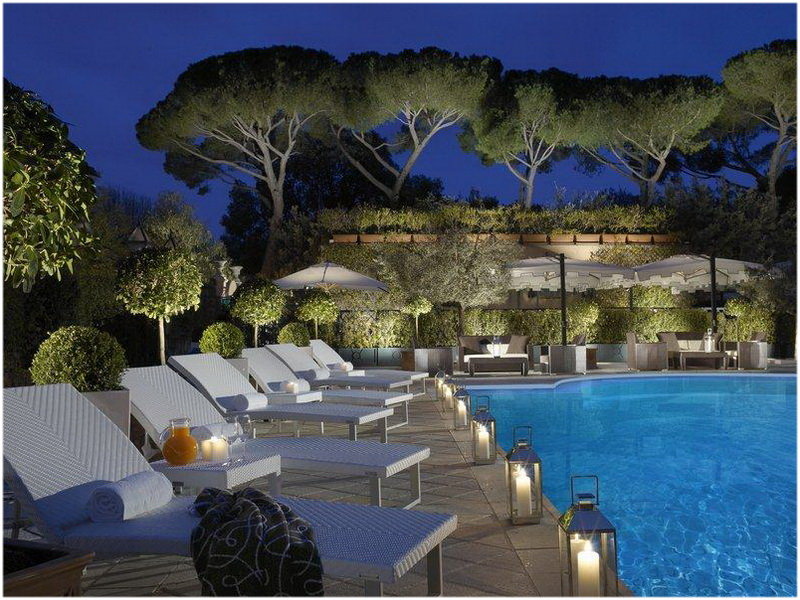 Grand Hotel Parco dei Principi, Rome, Italie, piscine